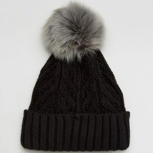 UGG cable cuff beanie